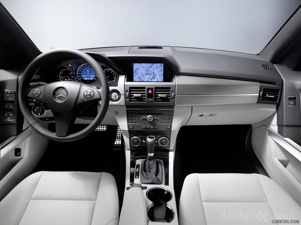 Nội thất Mercedes GLK 2009