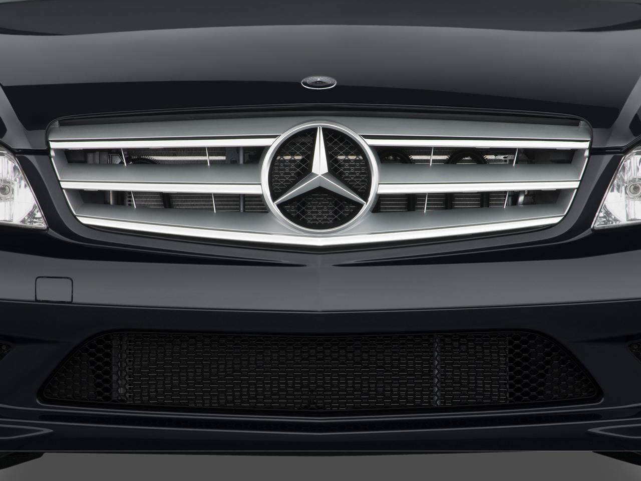 Lưới tản nhiệt ô tô Mercedes