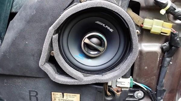 nâng cấp hệ thống âm thanh - alpine