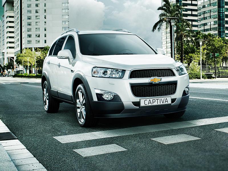 Đánh giá xe Chevrolet Captiva 2012