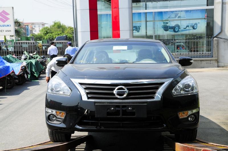Nissan Teana thế hệ mới về Việt Nam có giá từ 1,4 tỷ đồng