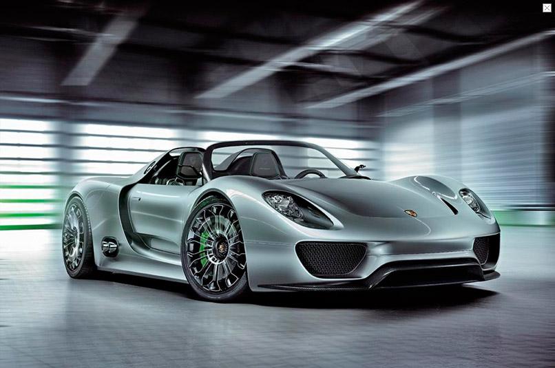 Siêu xe hybrid Porsche 918 Spyder