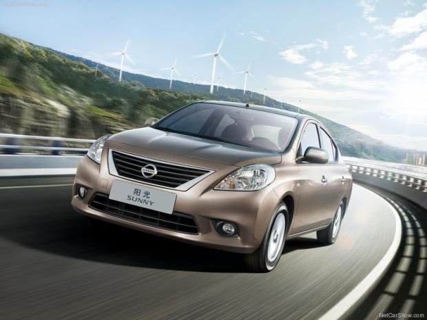 xe 5 chỗ giá rẻ - Nissan Sunny