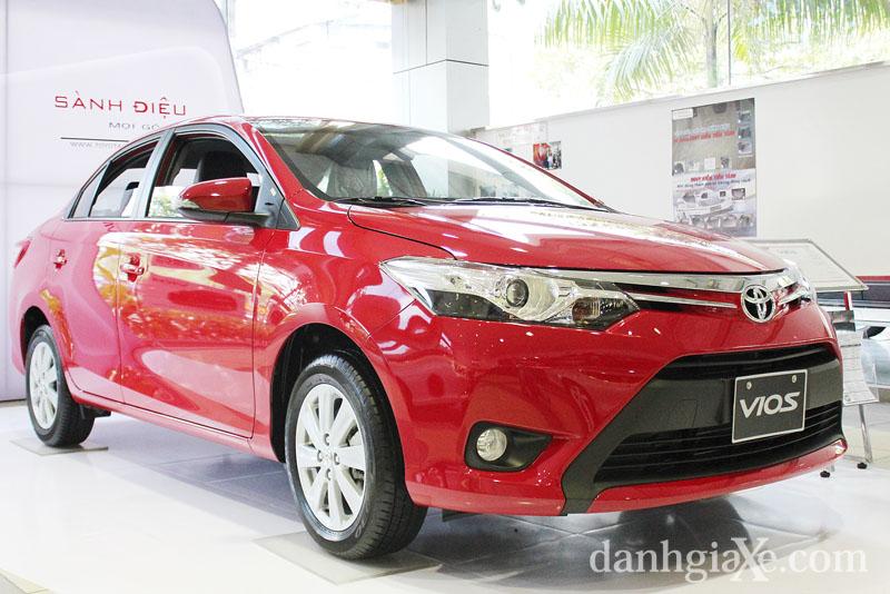 Xe 5 chỗ giá rẻ - Toyota Vios