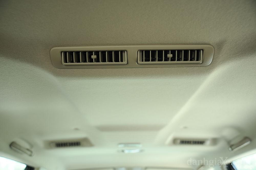 Hệ thống điều hòa Toyota Fortuner 2012