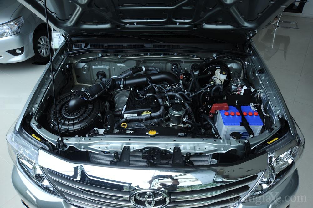 Động cơ xe Toyota Fortuner 2012