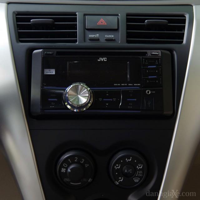 Dàn CD Toyota Vios 2012