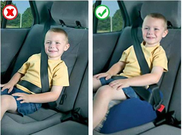 Ghế xe hơi cho bé - Vị trí ngồi an toàn cho trẻ em trên 135cm