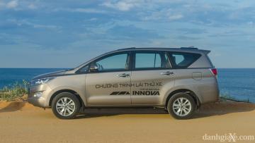 Mâm xe 16-inch ở Innova 2.0 G