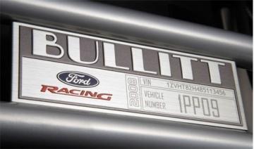 Cách đọc số VIN- số VIN trên Ford Mustang Bullitt 2008
