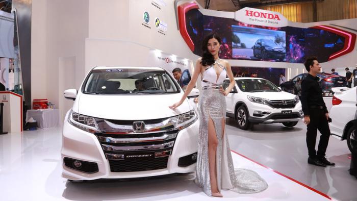 Tổng quan gian hàng Honda tại VMS: Những mẫu xe hiện đại đầy quyến rũ 6