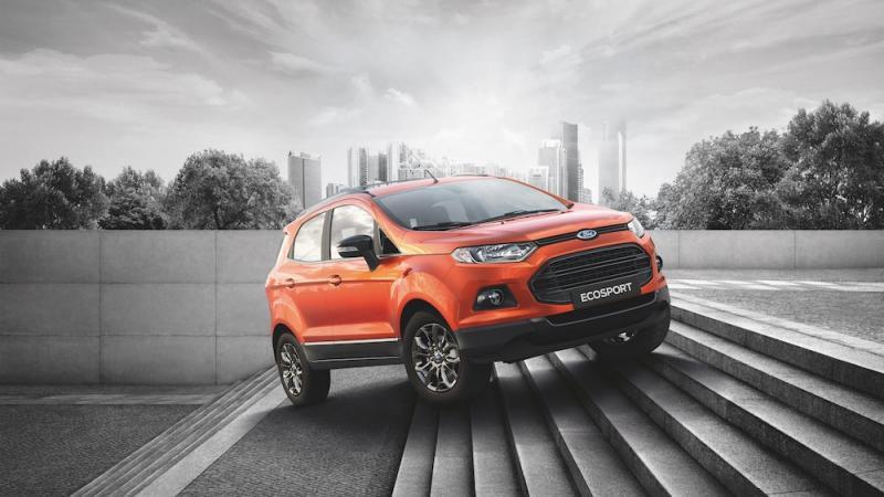 Ford EcoSport Titanium Black Edition 2017 giá bao nhiêu? Khi nào về VN?