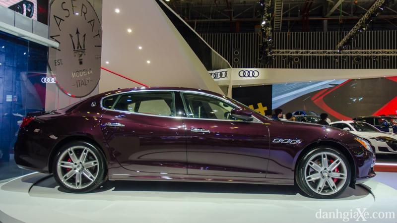 Cận cảnh Maserati Quattroporte 2017 mới ra mắt tại Việt Nam
