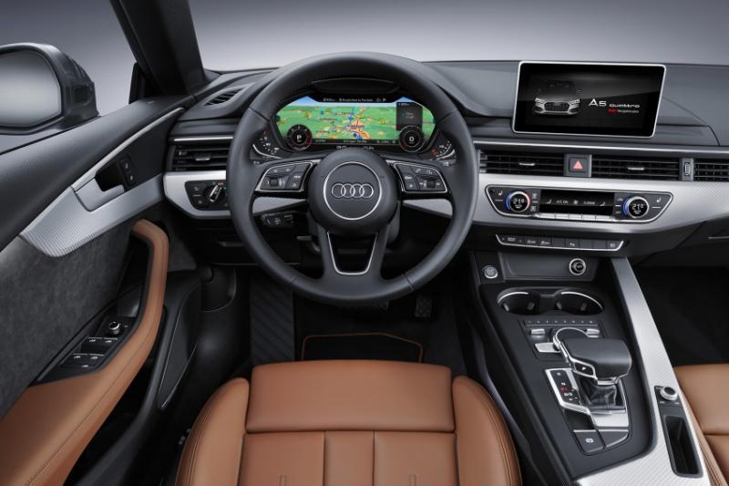 Đánh giá Audi A5 2016: động cơ xăng TFSI và 3 động cơ diesel TDI