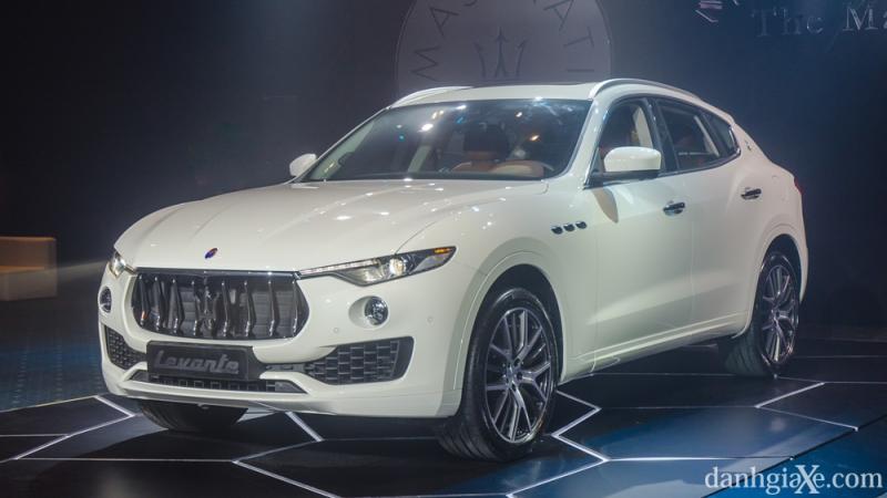 Đánh giá Maserati Levante 2017 kèm hình ảnh chi tiết